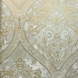 Dekor 115c Damask Desenli Yerli Duvar Kağıdı (5 m²)