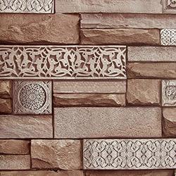 Dekor 105d Taş Desenli Duvar Kağıdı (5 m²)