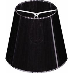 Begüsa Bez Abajur Şapkası - Siyah