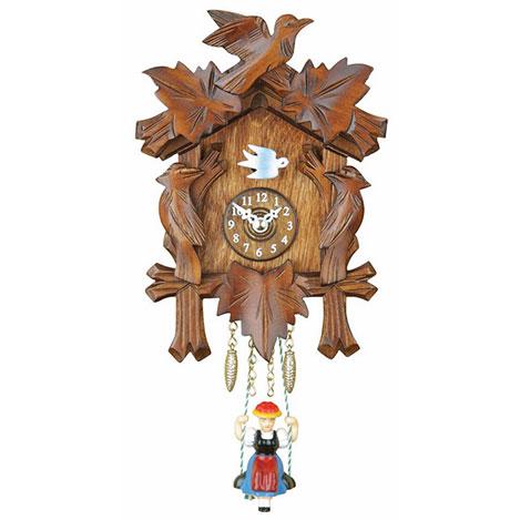 Resim  Regal GQ 72 Snu Dekoratif Guguklu Duvar Saati - 17 cm