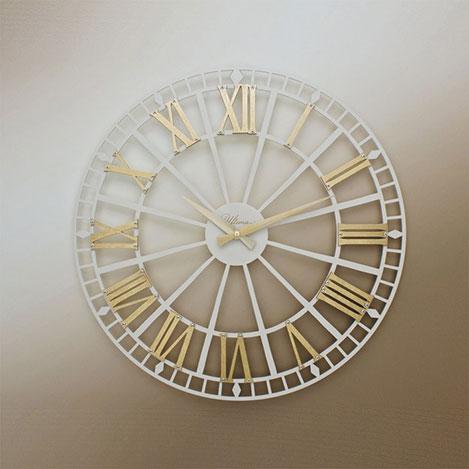 Resim  Regal 2685 WG Ferforje Duvar Saati - 49 cm