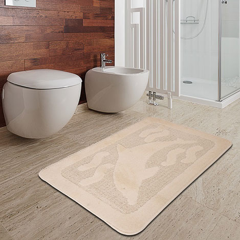 Confetti Freedom Banyo Halısı (Ekru) - 50x80 cm