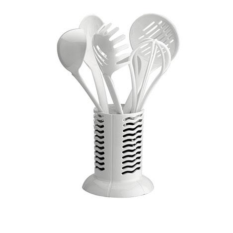 Resim  Schafer Mia Plastik Kepçe Takımı - Beyaz