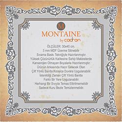 Montaine By Cadran MT289 Mdf Tablo - 30x40 cm