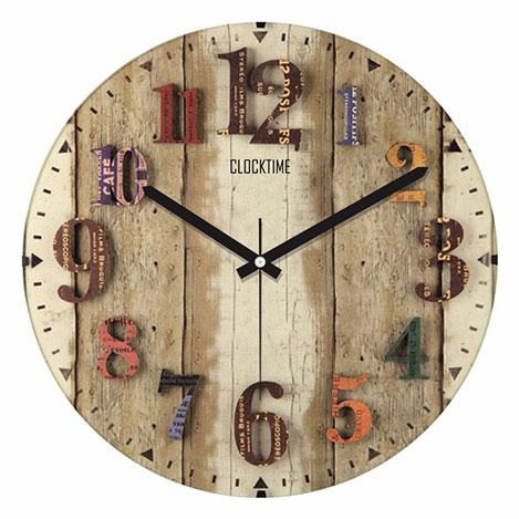 Resim  Clocktime By Cadran CTM67 Duvar Saati - 30x30 cm