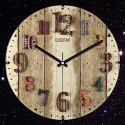 Clocktime By Cadran CTM67 Duvar Saati - 30x30 cm
