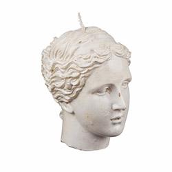 EuroFlora 83471 Kadın Büst Mum - 10x11 cm