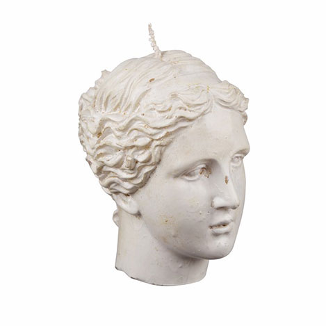 Resim  EuroFlora 83471 Kadın Büst Mum - 10x11 cm