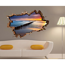 3d Art TDS-1015 Duvar Sticker - 70x45 cm