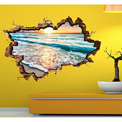 3d Art TDS-1017 Duvar Sticker - 70x45 cm