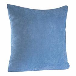 Jakist Dekoratif Süet Petek Kırlent Kılıfı (Açık Mavi) - 43x43 cm