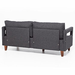 Evdebiz Comfort Yaşam Serisi Koltuk Takımı (3+3+1) - Gri