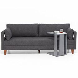 Evdebiz Comfort Yaşam Serisi Koltuk Takımı (3+1+1) - Gri