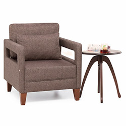 Evdebiz Comfort Yaşam Serisi Koltuk Takımı (3+1+1) - Kahve