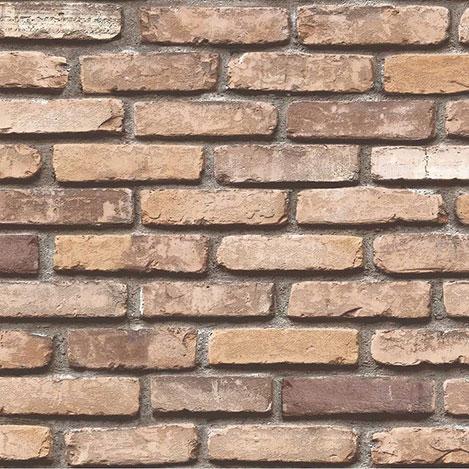 Exclusive 9030 Tuğla Desenli Duvar Kağıdı (5 m²)