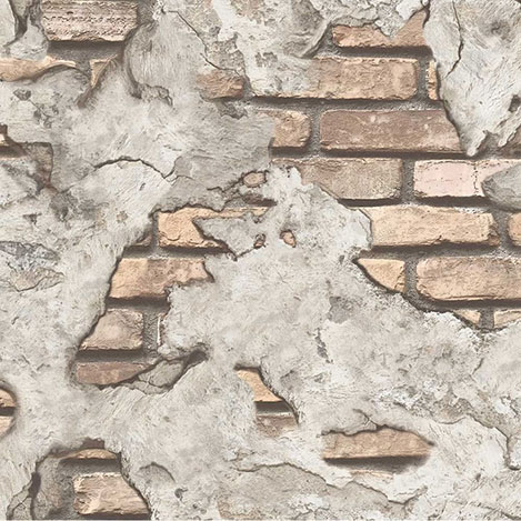 DUKA DK.71151-2 Inception Crack Duvar Kağıdı (16,28 m²)