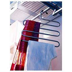 Patrix 5 Katlı Metal Pantolon Eşarp Askısı