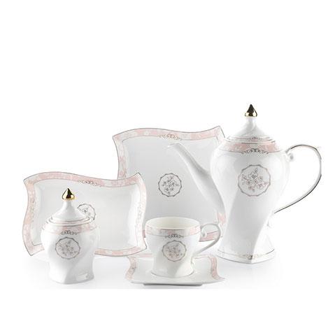 Schafer 40325 31 Parça Klasse Porselen Kahvaltı Seti