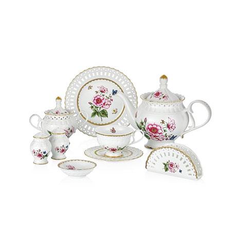 Resim  W.B.Schafer 27195 29 Parça Morgen Porselen Kahvaltı Seti