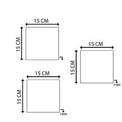 Cadran Wood UCW120 Mdf Tablo - 3 Parçalı