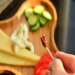 Bambum 2'li Little Baharat Kaşığı - 7,5x1 cm