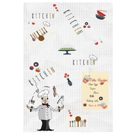 Resim  Brillant 101 Chef Mutfak Halısı - 100x160 cm