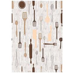 Brillant 101 Tools Mutfak Halısı - 130x200 cm