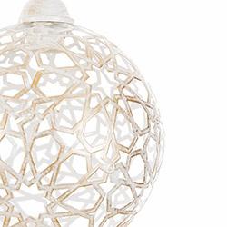 Safir Light Ora Tekli Sarkıt - Beyaz / Altın