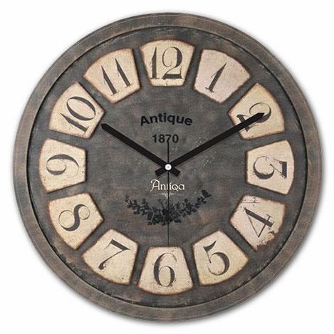 AntiQa De Paris ANS194 Mdf Duvar Saati - 30x30 cm