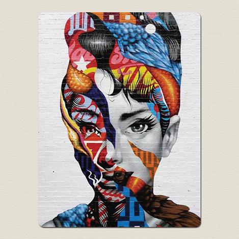 Resim  AntiQa DZ2 De Paris Mdf Tablo - 30x40 cm