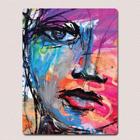 Resim  AntiQa DZ57 De Paris Mdf Tablo - 30x40 cm