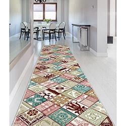 Confetti Havran Bukle Yolluk (Bordo) - 80x140 cm