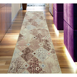 Confetti Kozdere Yolluk (Pembe) - 80x100 cm