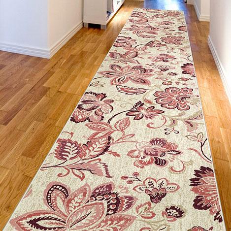 Resim  Confetti Mircan Bukle Yolluk (Gülkurusu) - 80x250 cm