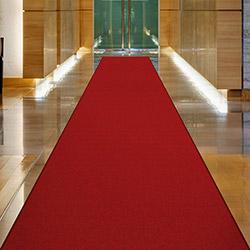 Confetti Protokol Bukle Yolluk (Bordo) - 80x200 cm