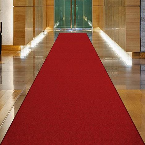 Resim  Confetti Protokol Bukle Yolluk (Bordo) - 80x250 cm