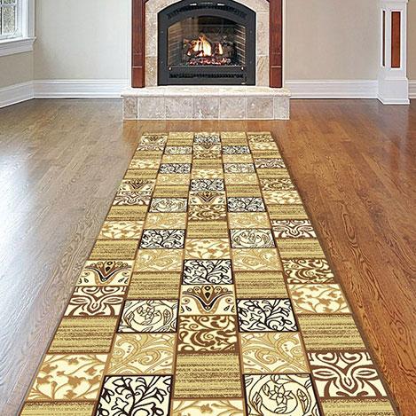 Resim  Confetti Ren Bukle Yolluk (Bej) - 80x125 cm