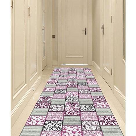 Resim  Confetti Ren Bukle Yolluk (Mor) - 80x160 cm