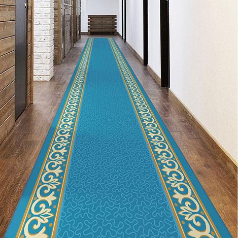 Resim  Confetti Vip Bukle Yolluk (Turkuaz) - 80x150 cm