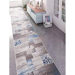 Confetti Vize Bukle Yolluk (Mavi) - 80x300 cm