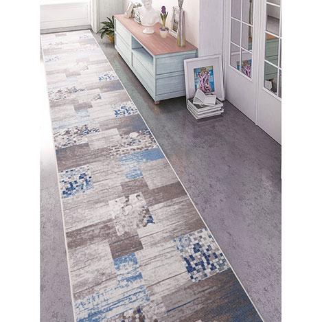 Confetti Vize Bukle Yolluk (Mavi) - 80x400 cm