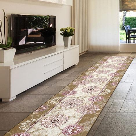 Confetti Yenisey Bukle Yolluk (Gülkurusu) - 80x100 cm