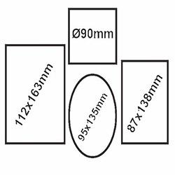 Secret K-193-B 4'lü Fotoğraf Çerçevesi - Beyaz
