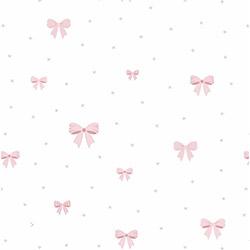 Milky Baby 415-1 Kurdele Desenli Çocuk Duvar Kağıdı (5 m²)