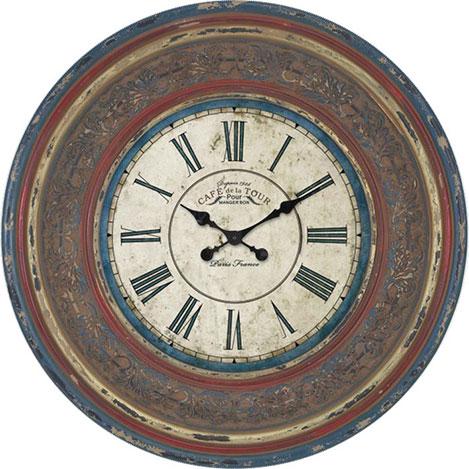 Resim  Clock Mango CLKMNG-29 Retro Classic Duvar Saati - 50 cm