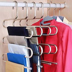 Emka EM2038 3'lü Metal Pantolon Eşarp Askısı
