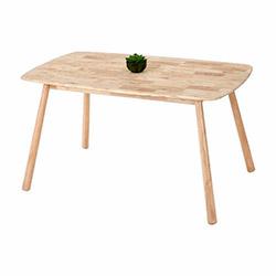 Vitale Seven Masa Sandalye Seti - Akçaağaç / Kahverengi