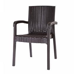 Ustoll Furniture Turkuaz Rattan Koltuk - Kahverengi