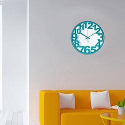 Ora Dekor Design 30'Luk Duvar Saati -Turkuaz