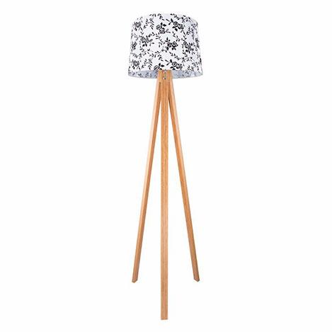 Modelight Spesiyal Deko Lambader - Bambu / Beyaz